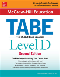 McGraw-Hill Education TABE Level D 2nd Edition – PDF ebook*