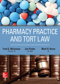 Pharmacy Practice and Tort Law 1st Edition – PDF ebook*