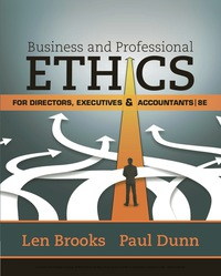Business & Professional Ethics for Directors, Executives & Accountants, 8th Edition – PDF ebook*