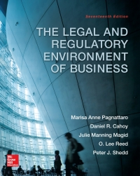 The Legal and Regulatory Environment of Business 17th Edition – PDF ebook*