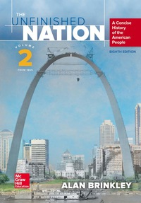The Unfinished Nation Vol 2 8th Edition by Alan Brinkley – PDF ebook*