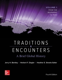 Traditions and Encounters: A Brief Global History Vol 1 4th Edition – PDF ebook*