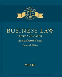 Business Law: Text & Cases – An Accelerated Course, 14th Edition – PDF ebook*