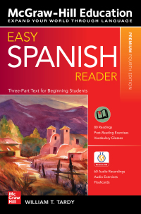 Easy Spanish Reader 4th Edition by William T. Tardy – PDF ebook