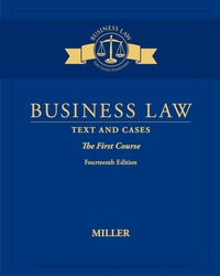Business Law: Text & Cases – The First Course, 14th Edition – PDF ebook*