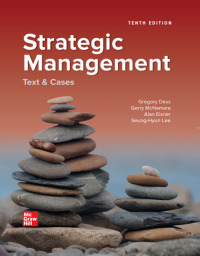Strategic Management: Text and Cases 10th Edition – PDF ebook