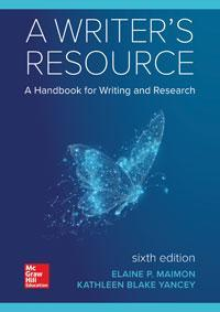 A Writer's Resource 6th Edition by Elaine Maimon – PDF ebook