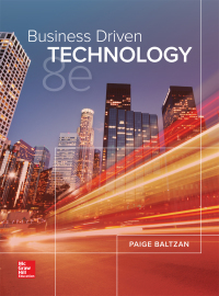 Business Driven Technology 8th Edition by Paige Baltzan – PDF ebook