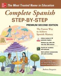 Complete Spanish Step-by-Step 2nd Edition by Barbara Bregstein – PDF ebook