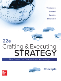 Crafting and Executing Strategy: Concepts 22nd Edition – PDF ebook