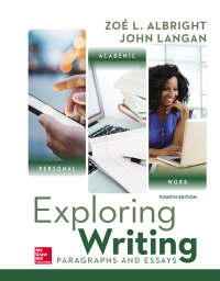 Exploring Writing: Paragraphs and Essays 4th Edition – PDF ebook