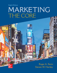 Marketing: The Core 8th Edition by Roger Kerin – PDF ebook