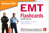 McGraw-Hill's EMT Flashcards 2nd Edition by Peter A. DiPrima; Scott S. Coyne – PDF ebook