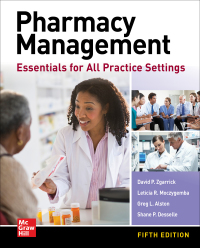 Pharmacy Management: Essentials for All Practice Settings 5th Edition – PDF ebook