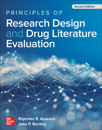 Principles of Research Design and Drug Literature Evaluation 2nd Edition – PDF ebook