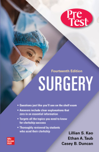 Surgery PreTest Self-Assessment and Review 14th Edition – PDF ebook