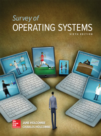 Survey of Operating Systems 6th Edition by Jane Holcombe – PDF ebook