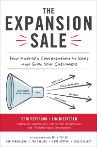 The Expansion Sale: Four Must-Win Conversations to Keep and Grow Your Customers 1st Edition – PDF ebook