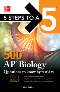 5 Steps to a 5: 500 AP Biology Questions to Know by Test Day 3rd Edition – PDF ebook
