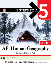 5 Steps to a 5: AP Human Geography 2020 1st Edition – PDF ebook