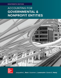 Accounting for Governmental & Nonprofit Entities 18th Edition – PDF ebook