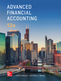 Advanced Financial Accounting 12th Edition by Theodore Christensen – PDF ebook