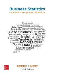 Business Statistics: Communicating with Numbers 3rd Edition – PDF ebook