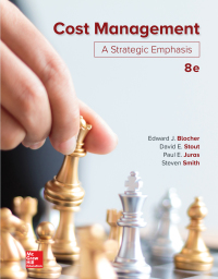 Cost Management: A Strategic Emphasis 8th Edition – PDF ebook