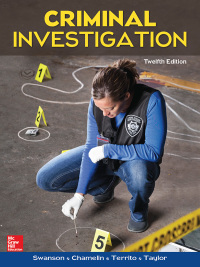 Criminal Investigation 12th Edition by Charles Swanson – PDF ebook