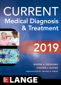 CURRENT Medical Diagnosis and Treatment 2019 58th Edition – PDF ebook