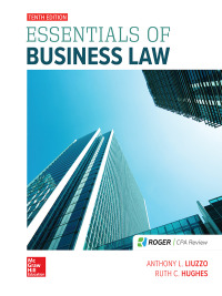 Essentials of Business Law 10th Edition by Anthony Liuzzo – PDF ebook