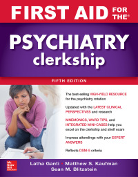 First Aid for the Psychiatry Clerkship 5th Edition – PDF ebook