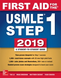 First Aid for the USMLE Step 1 2019 29th Edition – PDF ebook