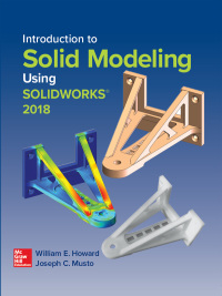 Introduction to Solid Modeling Using SolidWorks 2018 14th Edition – PDF ebook