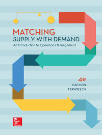 Matching Supply with Demand: An Introduction to Operations Management 4th Edition – PDF ebook