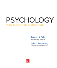 Psychology: Perspectives and Connections 4th Edition – PDF ebook