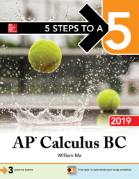 5 Steps to a 5: AP Calculus BC 2019 1st Edition – PDF ebook