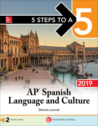 5 Steps to a 5: AP Spanish Language and Culture 2019 1st Edition – PDF ebook