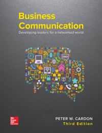 Business Communication: Developing Leaders for a Networked World 3rd Edition – PDF ebook