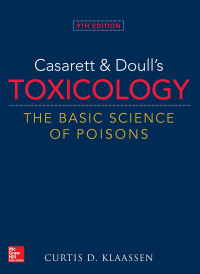 Casarett & Doull's Toxicology: The Basic Science of Poisons 9th Edition – PDF ebook