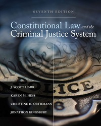 Constitutional Law and the Criminal Justice System, 7th Edition – PDF ebook*