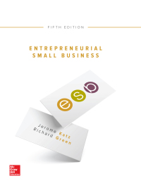 Entrepreneurial Small Business 5th Edition – PDF ebook