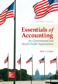 Essentials of Accounting for Governmental and Not-for-Profit Organizations 13th Edition – PDF ebook