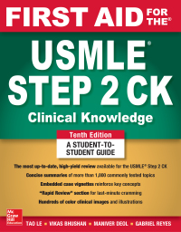 First Aid for the USMLE Step 2 CK, Tenth Edition 10th Edition – PDF ebook