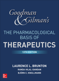 Goodman and Gilman's The Pharmacological Basis of Therapeutics 13th Edition – PDF ebook
