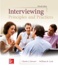 Interviewing: Principles and Practices 15th Edition – PDF ebook