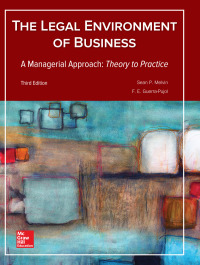 Legal Environment of Business, A Managerial Approach: Theory to Practice 3rd Edition – PDF ebook