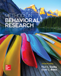 Methods in Behavioral Research 13th Edition – PDF ebook