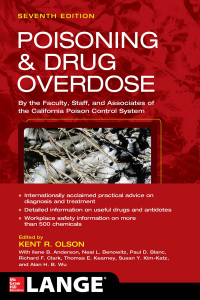 Poisoning and Drug Overdose, Seventh Edition 7th Edition – PDF ebook