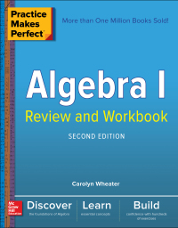 Practice Makes Perfect Algebra I Review and Workbook 2nd Edition – PDF ebook